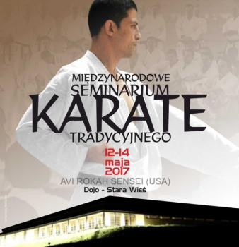 International Traditional Karate Seminar conducted by Avi Rokah Sensei, 12-14.05.2017, Stara Wies